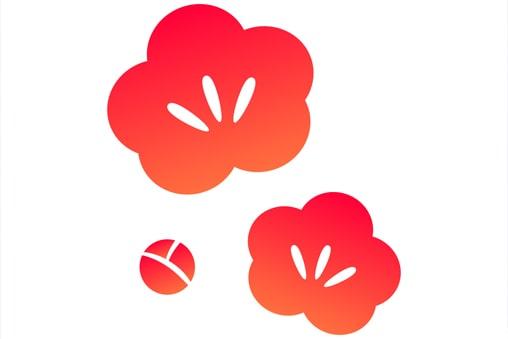 五つの花びら、三つのおしべ
